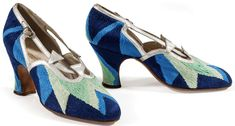 Sonia Delaunay • Court shoes, 1925