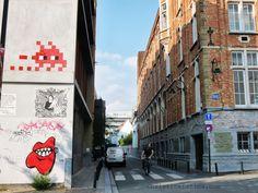 Space Invader, Brussels #invader #graffiti #streetart #belgium