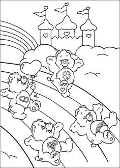 coloring page Care Bears