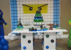 Ninjago balloon display