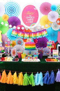 Kenley's Troll-tastic Rainbow 6th Birthday   CatchMyParty.com