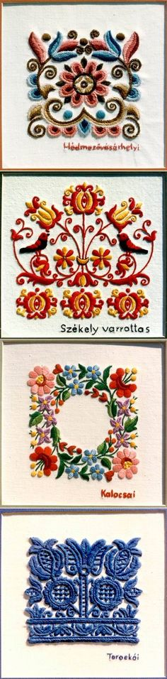 Hungarian Embroidery - Folk Art