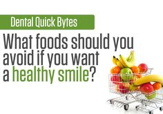 Oral Health in a minute: foods to avoid
