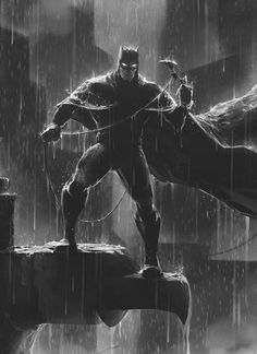 Cartoons And Heroes — longlivethebat-universe: Batman by Nadim Arnaout