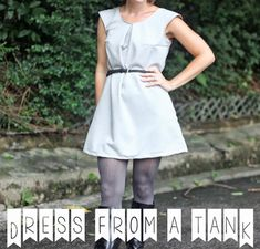 Free Dress Pattern {from a tank}