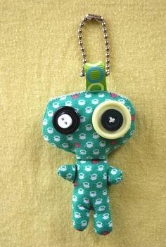 Mini Ouff Frog alias Le Prince Charmant : Porte clés par fanosh