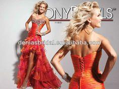 Tony Bowls 113512 Sweetheart Short Front Long Back Prom Dresses US $184.00