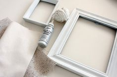 make your own canvas + string art