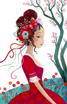 ✍ Design :✍: Color Pallete ✍ Illustrations Anja Klauss Portfolio : histoires autour du monde