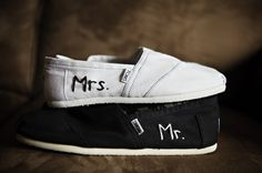 Wedding TOMS-   Caroline this one screams you in every single way. You better wear these at your wedding!
