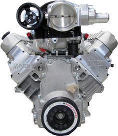 LS7 427 Black Label 900 Supercharged Crate Engine - 900HP