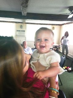 With my beautiful Rylan at her baptism!