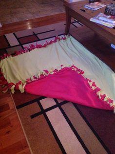 My DIY blanket easy to make
