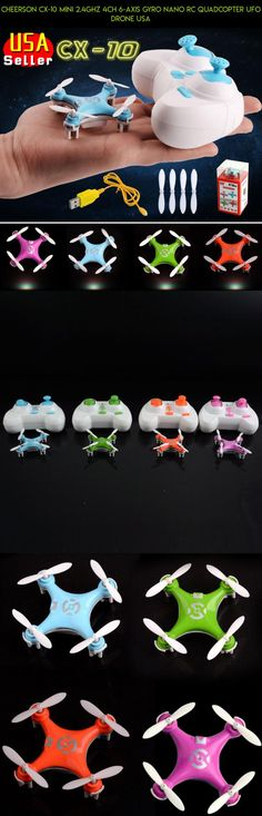 Cheerson CX-10 Mini 2.4Ghz 4CH 6-Axis GYRO Nano RC Quadcopter UFO Drone USA #parts #plans #cheerson #camera #racing #kit #tech #shopping #10 #drone #gadgets #technology #fpv #products