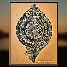 Easy Mandala Drawing, Mandala Doodle, Mandala Art Lesson, Mandala Canvas, Doodle Art Drawing, Mandala Artwork, Mandala Painting, Madhubani Paintings Peacock, Kalamkari Painting