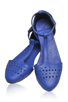 MOZAIC. Womens shoes / leather shoes / ballet flats
