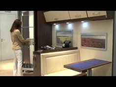 Ideas para espacios pequeños como caravanas - YouTube