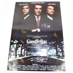 GoodFellas Movie Poster Signed By Cast  http://www.propertyroom.com/listing.aspx?l=9511416