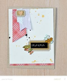 Thankful * Card Kit Only by JennPicard at @studio_calico