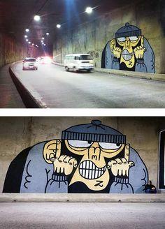 Conheça o paulista Mudo e seu graffiti que mescla murais com um lado vandal da arte - Follow the Colours