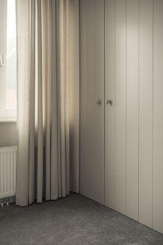 linnenkast op maat gemaakt Cozy Bedroom, Home Bedroom, Closet Bedroom, Modern Bathroom Design, Bedroom Interior, Bed Furniture, Painted Wardrobe, Closet Doors, Bedroom Built In Wardrobe