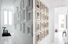 Cuadros para pasillos decorados