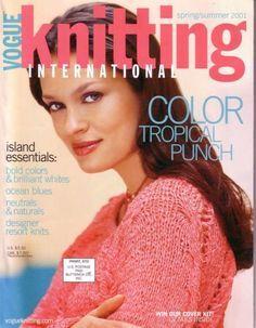 2001 Spring/Summer   Vogue Knitting