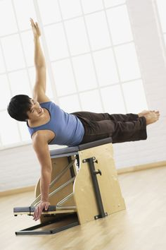 What is the Pilates Chair or Wunda Chair?: Exercises on the Pilates Chair Pelvic Floor Exercises, Chair Exercises, Pilates Equipment, No Equipment Workout, Pilates Reformer, Pilates Workout, Pilates For Men, Pilates Machine, Pilates Chair
