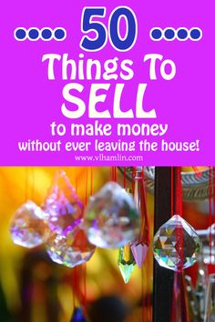50 Things to Sell to Make Money Without Ever Leaving Your House - Food Life Design to sell to make money ideas Money Making Crafts, Crafts To Make And Sell, Make Money From Home, Way To Make Money, How To Make, Craft Business, Home Based Business, Business Ideas, Online Business