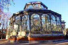 Glass Palace in Retiro Park