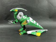 Bandai Power Rangers Dino Thunder Abaranger DX Parasaurzord Parasaurolophus Zord #Bandai