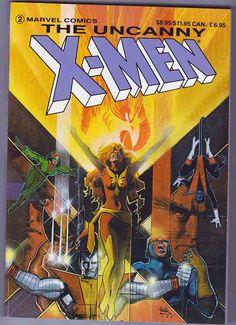 The Uncanny X-Men Dark Phoenix Saga Trade Paperback Marvel Comics Rare Comic Books, Comic Books For Sale, Comic Book Covers, Phoenix Art, Dark Phoenix, Marvel Storyline, The Uncanny, Marvel Entertainment, Classic Comics