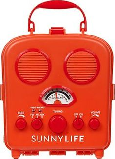 Sunny Life Radio - plug in your iPod or iPhone and go!