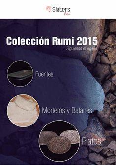 Coleccion 2015 Slaters PERÚ Platos, Fuentes, Morteros de la nueva colección en Piedra exclusivos!!!