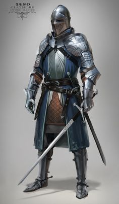 Knight, Max Yenin on ArtStation at https://www.artstation.com/artwork/42LR2