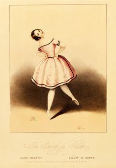 victorian illustration ballerina purple - Google Search