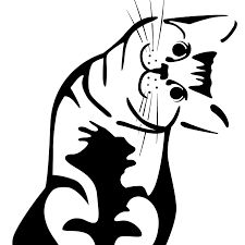 Our Picks for You on Etsy Cat Exercise, Cat Signs, Future Tattoos, Tigger, Cute Cats, Stencils, Minnie Mouse, Disney Characters, Fictional Characters