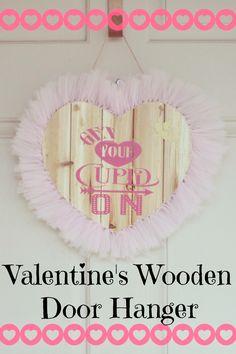 Valentine's Wooden Door Hanger