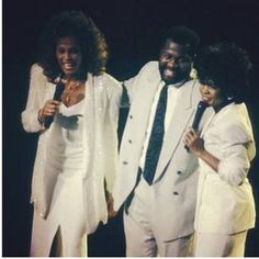 Whitney with Bebe and Cece Winans