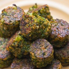 Broccoli Tots Recipe by Tasty Lentil Salad Recipes, Chard Recipes, Smoothie Recipes, Vegetarian Recipes Dinner, Dinner Recipes, Healthy Recipes, Grape Jelly Meatballs, Meatball Recipes, Different Recipes