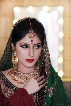 Pakistani couture bridal