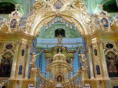 ペトロパヴロフスキー大聖堂の荘厳な祭壇