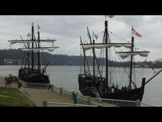 The Nina and The Pinta in Maysville, Kentucky KY ~we were in town for this. pretty neat