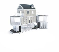 Create Scale Models Based On Your Own Designs With The Arckit 180 Architectural Model Building Design Kit Useful For Hobbyists Professionals And Students