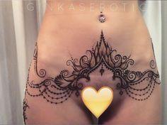 Бикини-дизайн по-восточному #ginkaserotic Запись на авторскую эротическую…