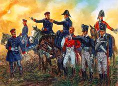 """Wellington and Blucher, Waterloo"", Giuseppe Rava"