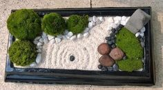Make your own Zen desktop garden Home and Garden Digest http://www.homeandgardendigest.com/make-a-desktop-zen-garden/