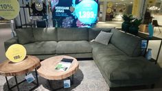 First I wanted to go for this couch Jonas at Goossens. My Living Room, To Go, Couch, Furniture, Home Decor, Settee, Decoration Home, Sofa, Room Decor