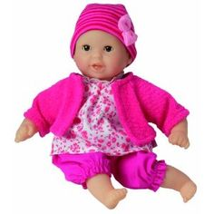 Corolle Mon Premier Baby Doll. Seriously the best baby doll ever. Smells like vanilla. Thanks, Aunt Sunny!