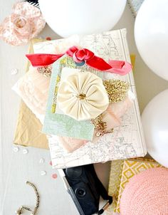more fabulous gift wrap by Tara Anderson